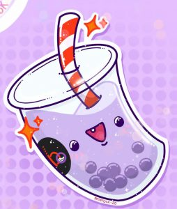 Taro Milk Tea - 1,20 €